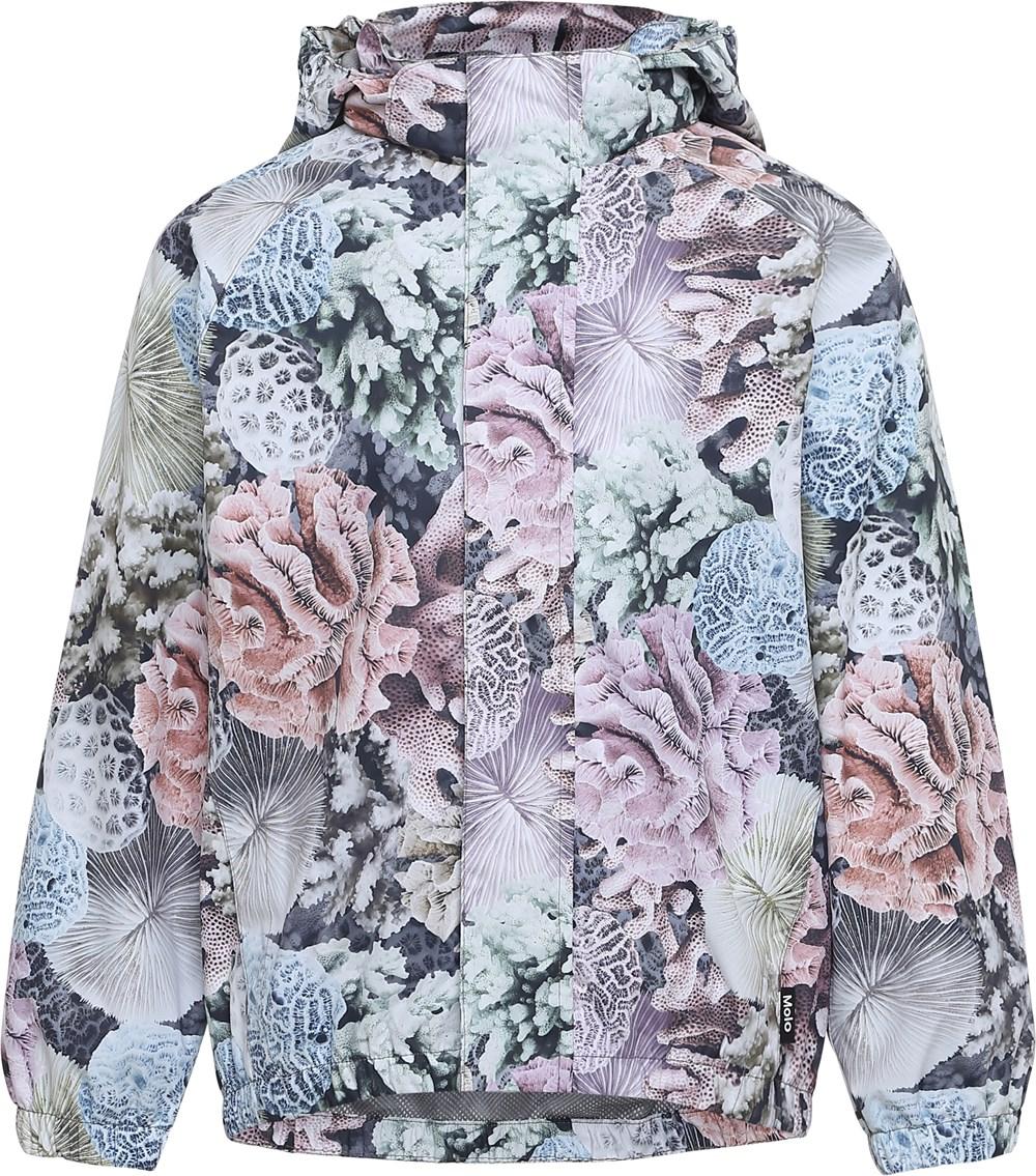 Waiton - Pastel Corals - Rain Jacket