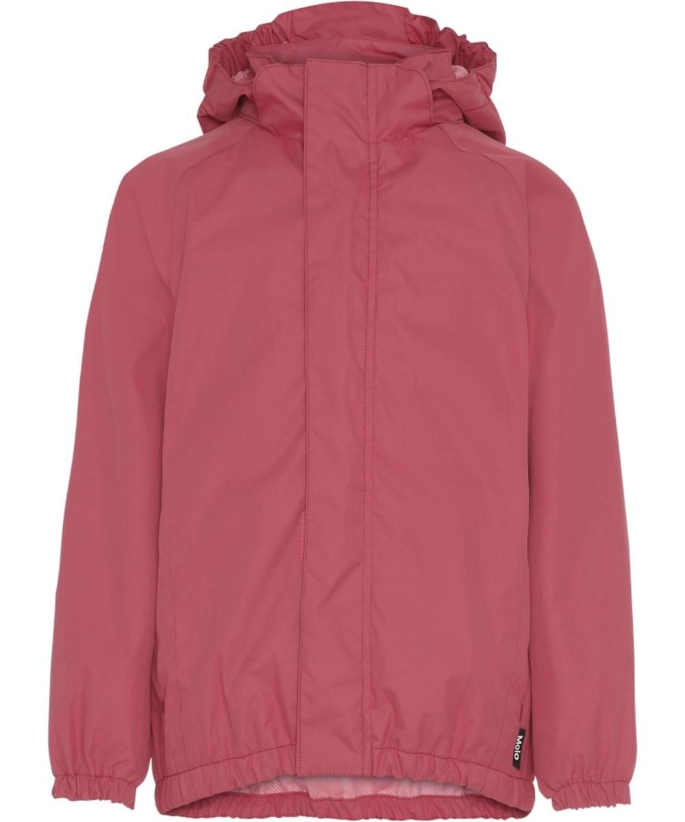 Waiton - Holly Berry - Rose-red rain jacket