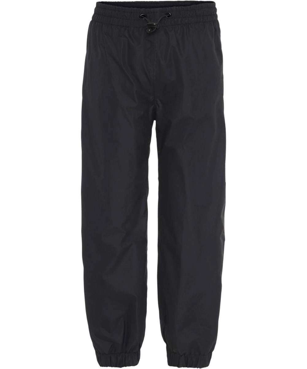 Waits - Black - Black rain trousers