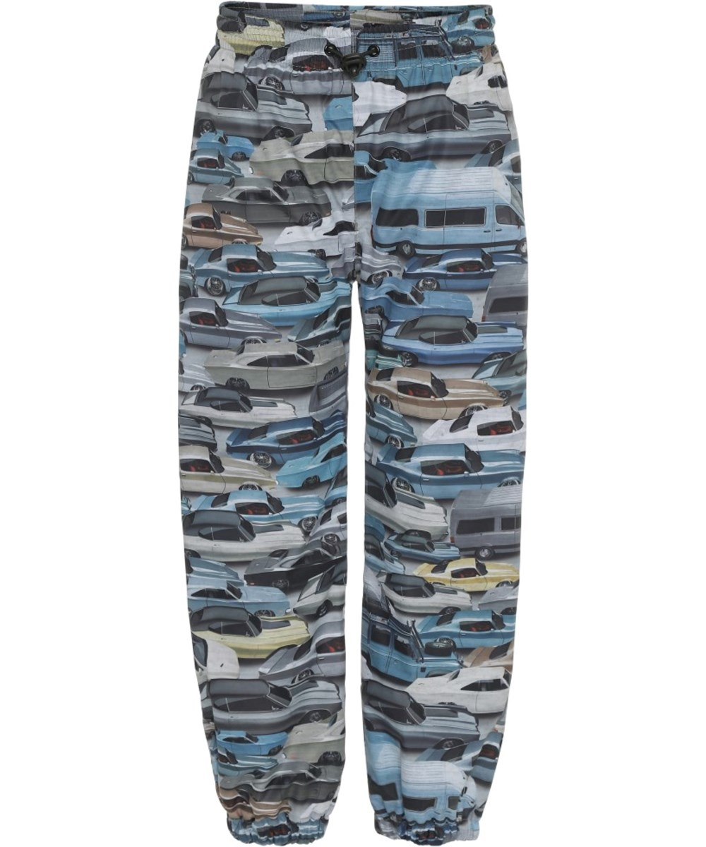 Waits - Car Jam - Rain trousers with car print
