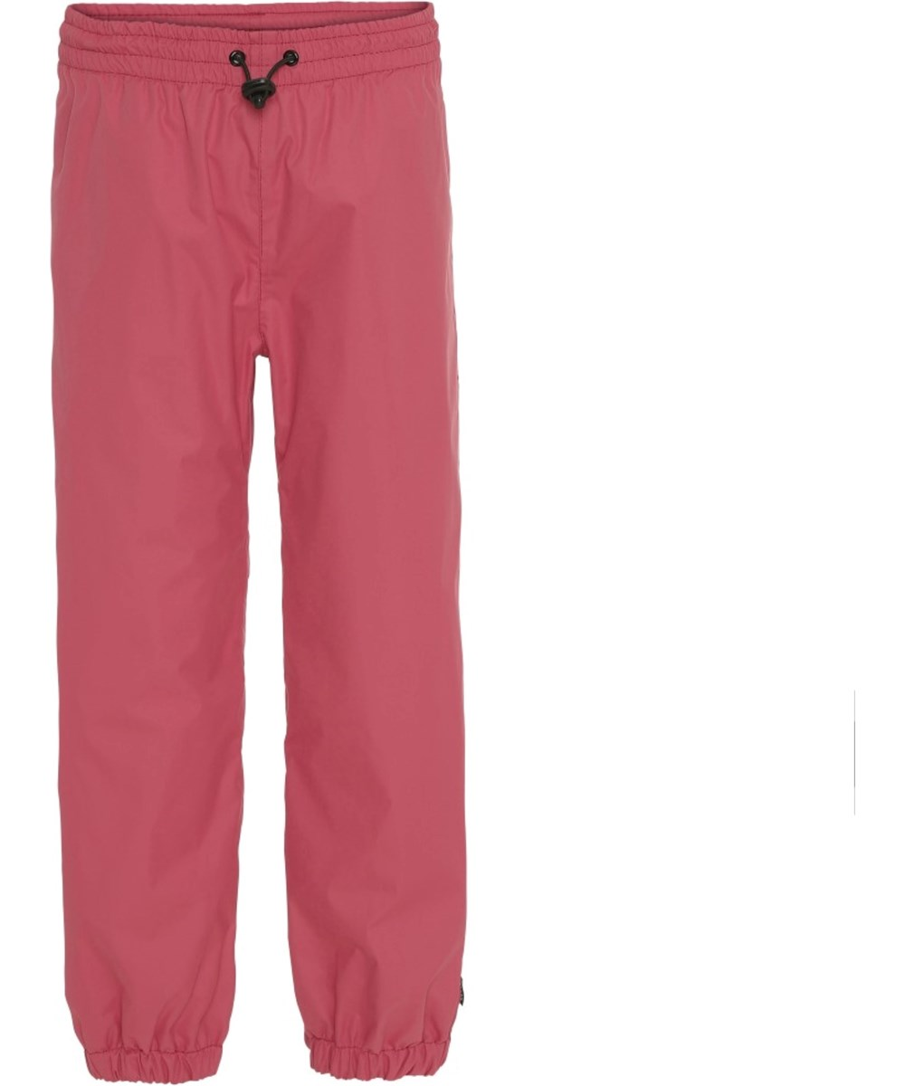 Waits - Holly Berry - Rose-red rain trousers