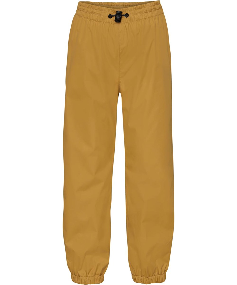 Waits - Honey - Golden rain trousers with star reflector