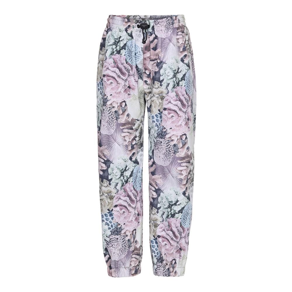 Waits - Pastel Corals - Rain Trousers