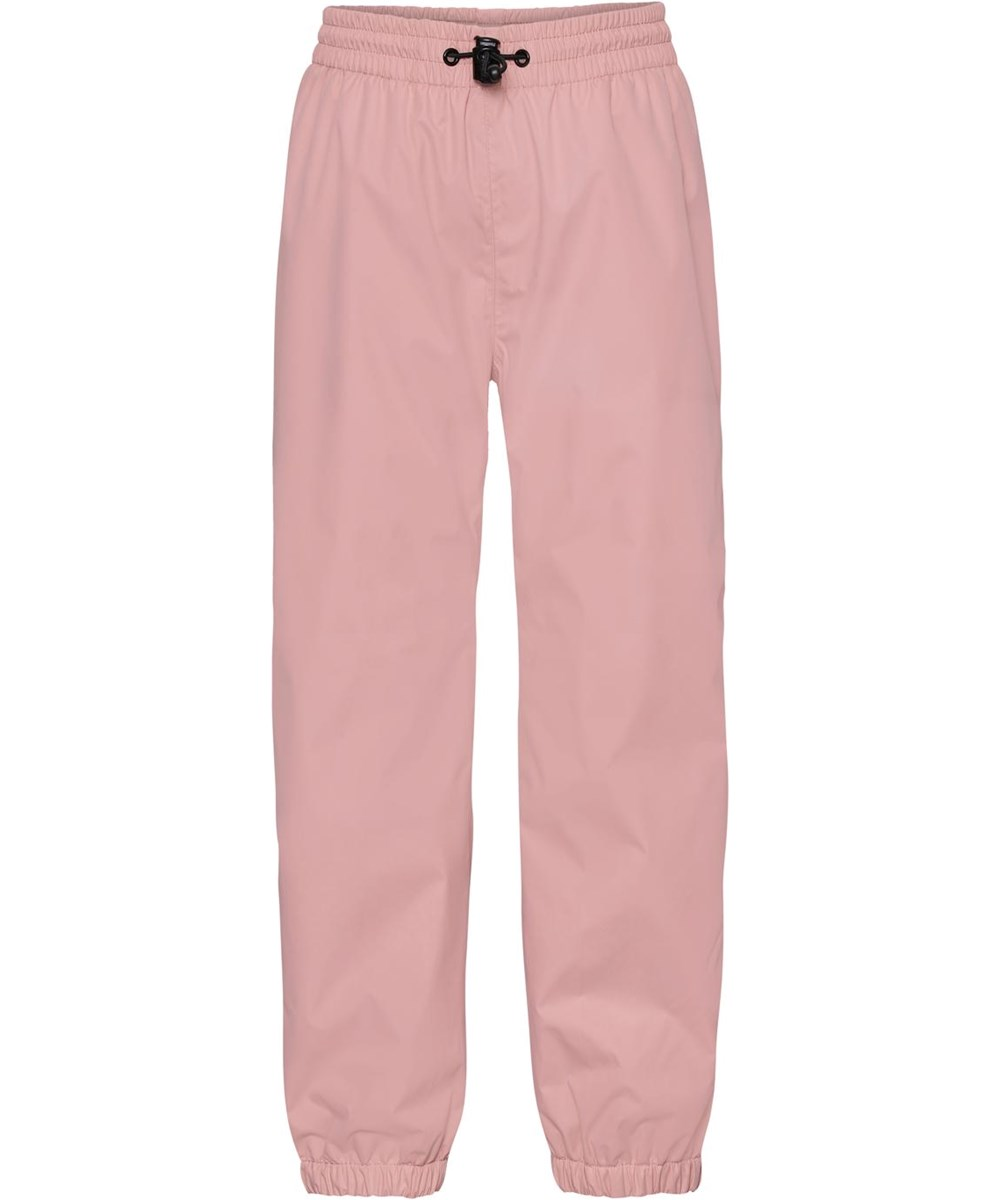 Waits - Rosequartz - Rose rain trousers with star reflector