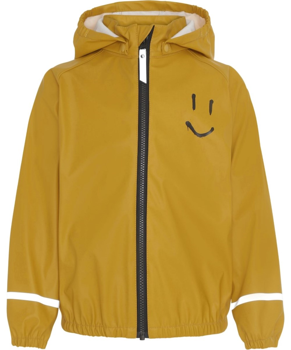 Zan - Nugget Gold - Golden yellow rain jacket