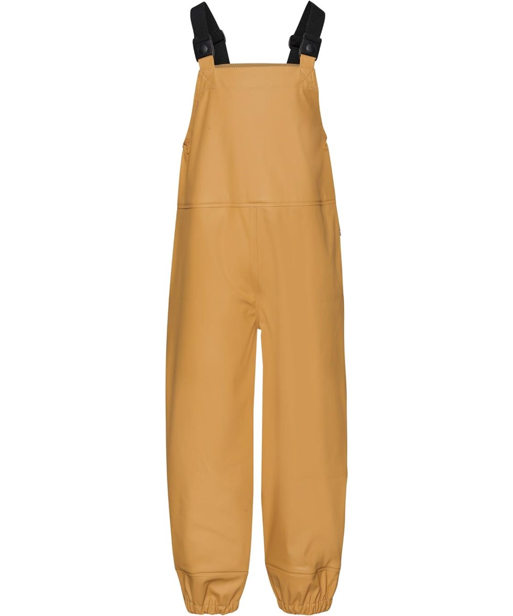 Zareb - Honey - Golden recycled rain dungarees