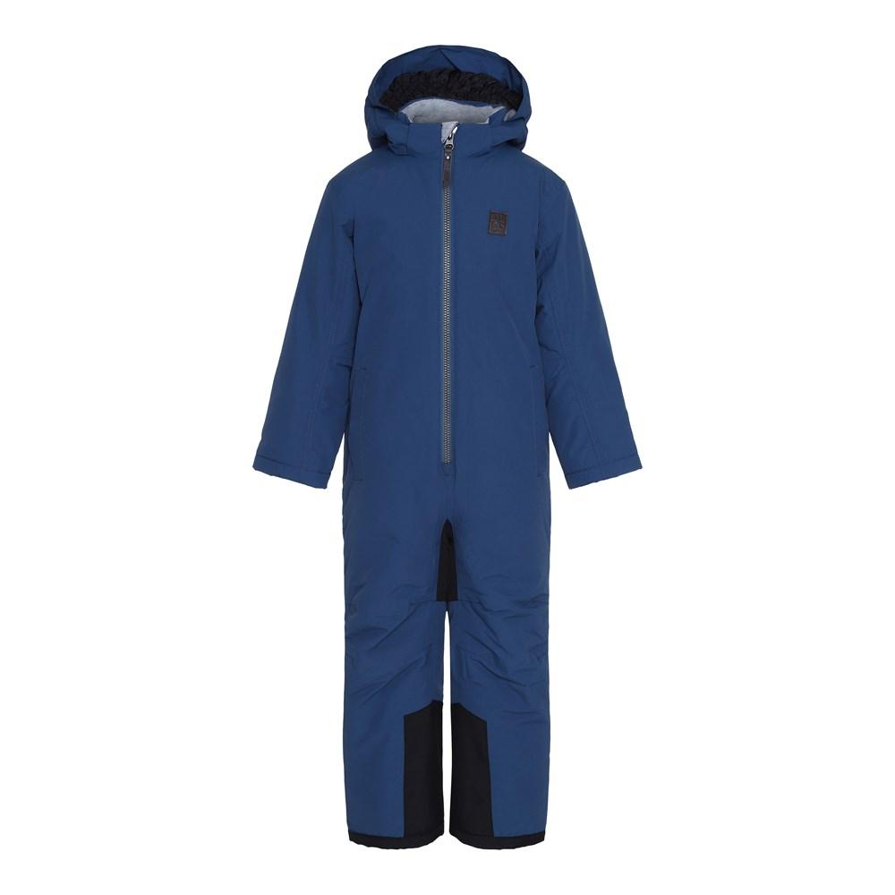 Haze - Blue Wing Teal - Functional, dark blue snowsuit