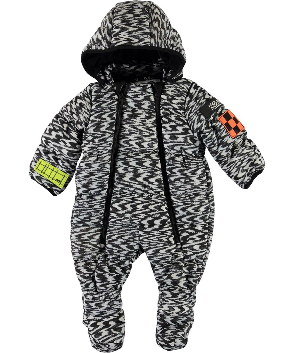 Hebe - Interference - Recycled baby snowsuit