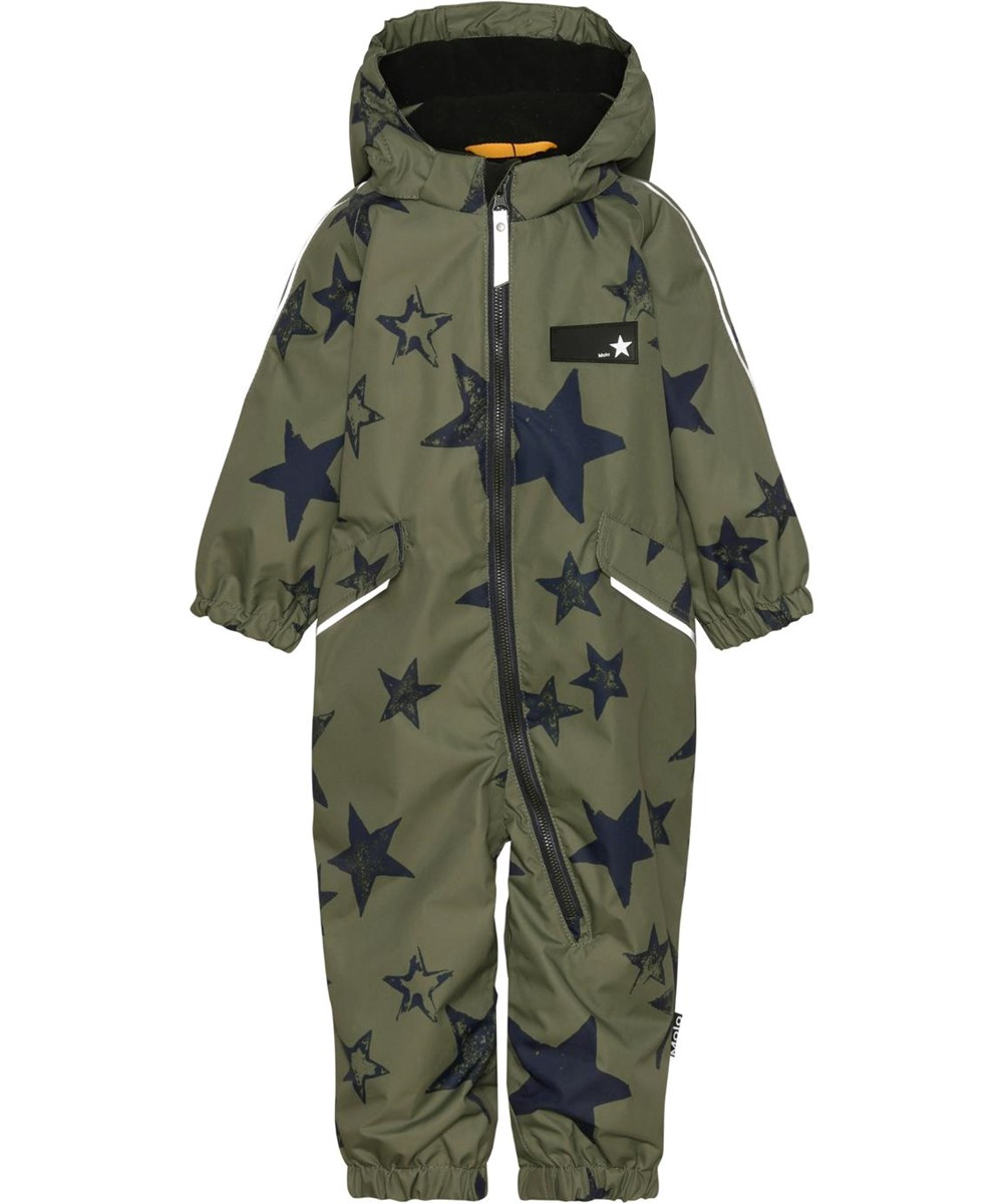 Hyde - Carbon Star - Recycled unisex snowsuit with star print