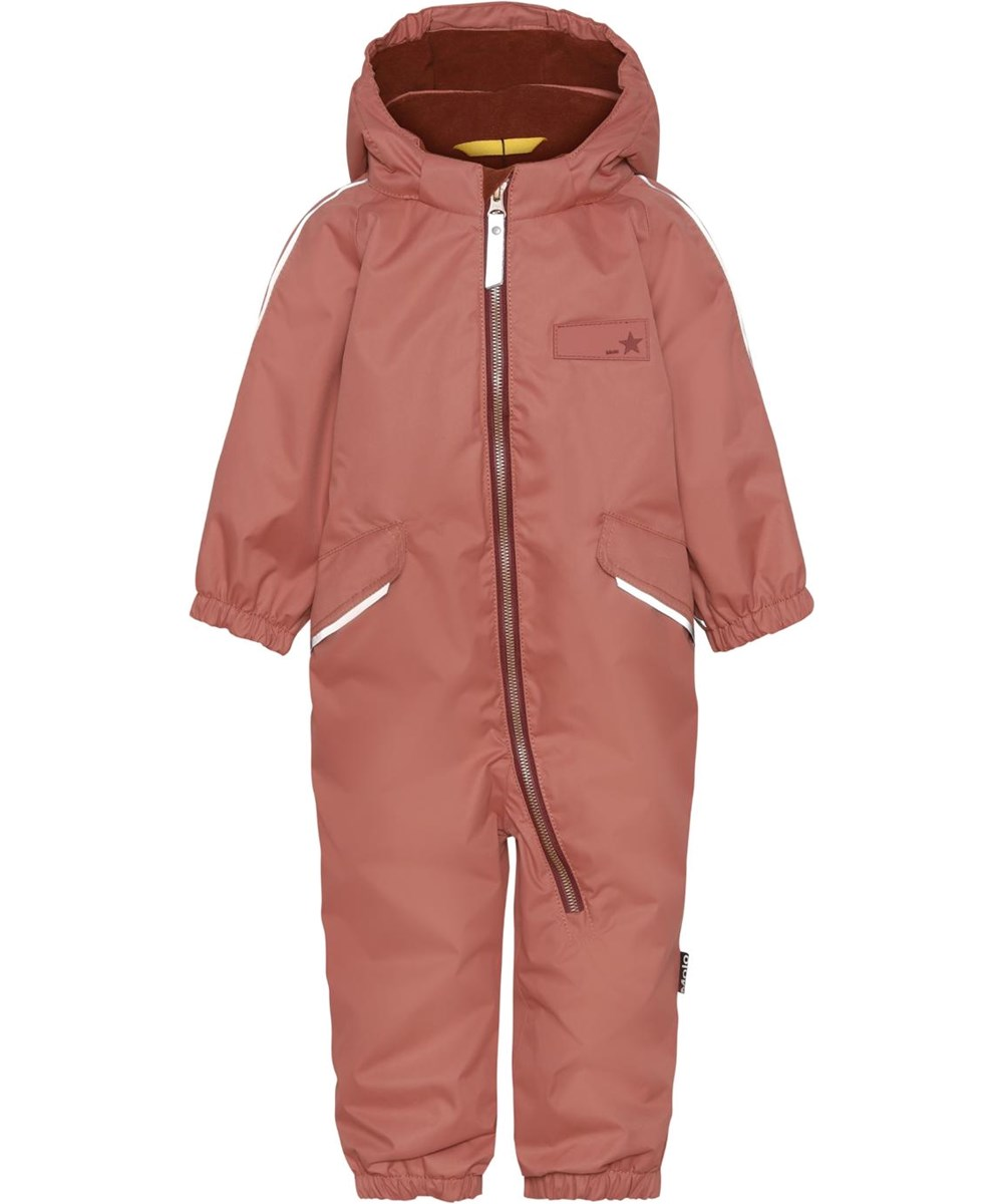 Hyde - Maple - Recycled unisex snowsuit in rose