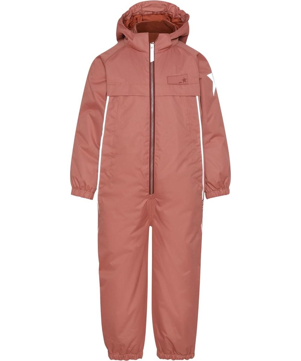 Pingo - Maple - Recycled unisex snowsuit in rose