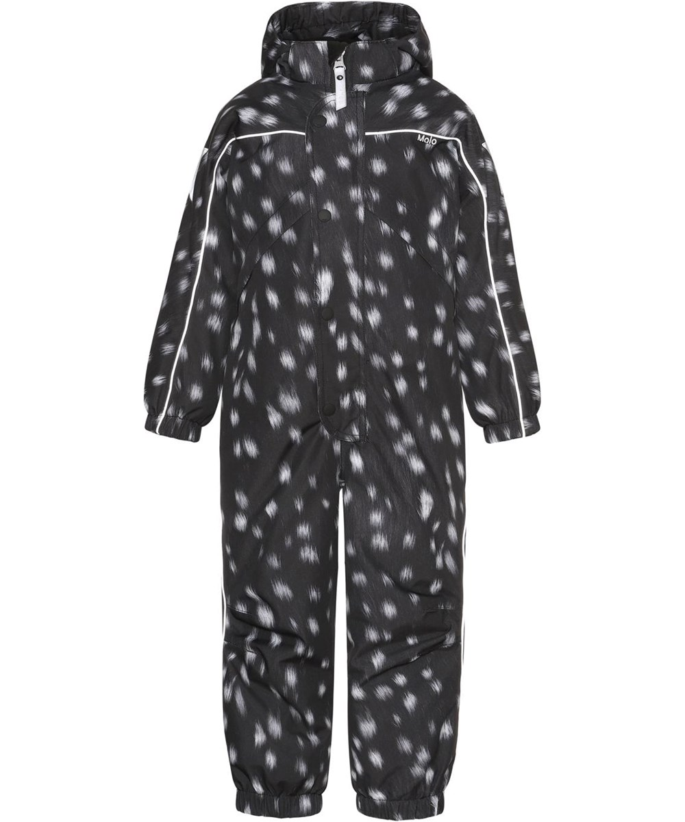 Polaris - Black Fawn - Recycled, Best-in-Test black snowsuit
