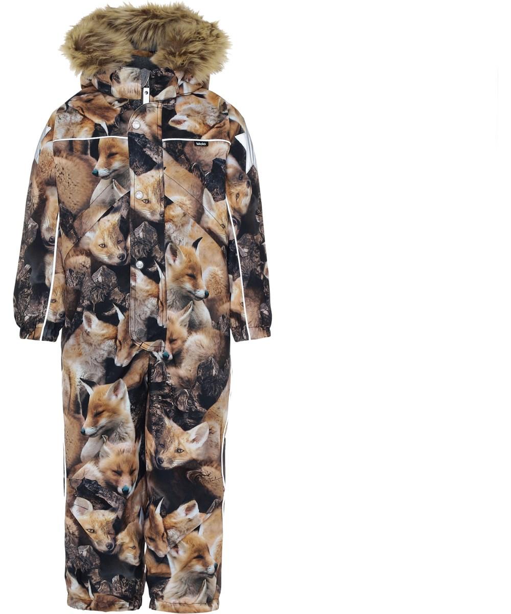 Polaris Fur - Fox Camo - Snowsuit with foxes.