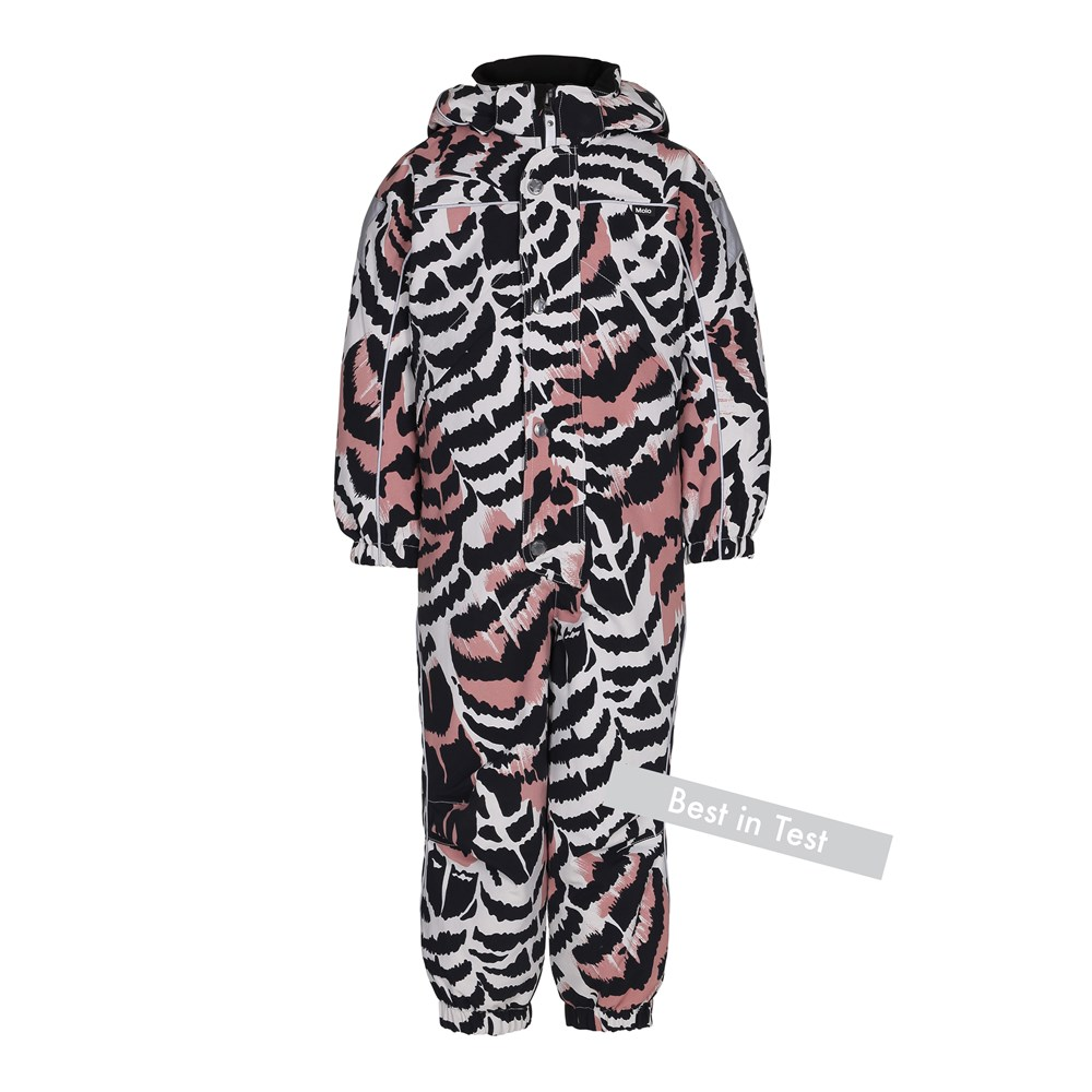 Polaris - Graphic Feathers - Functional snowsuit with fleece lining and digital graphic feather print