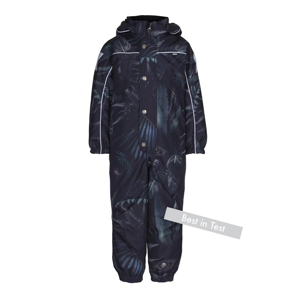 Polaris - Jungle Eyes - Functional snowsuit with fleece lining and digital jungle eyes print