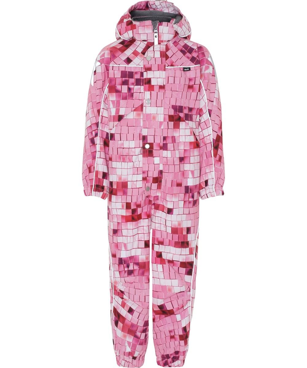 Polaris - Pink Disco - Snowsuit with pink print.