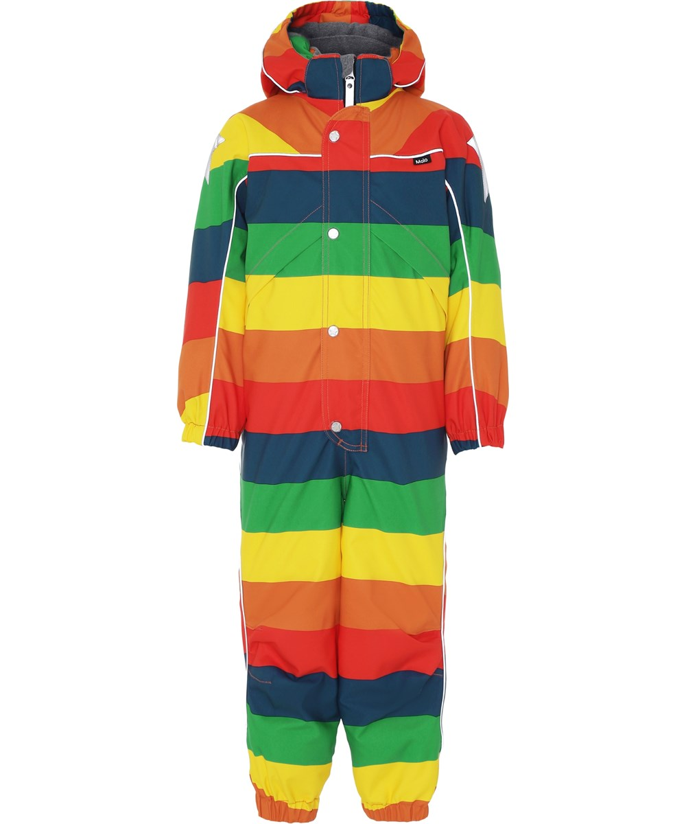 Polaris - Rainbow - Snowsuit in rainbow colours.