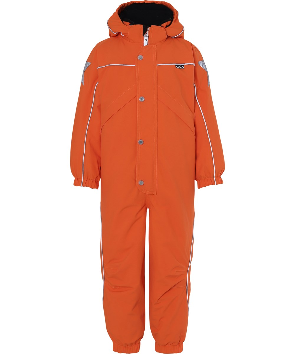 Polaris Recycle - Flame - Recycled orange snowsuit