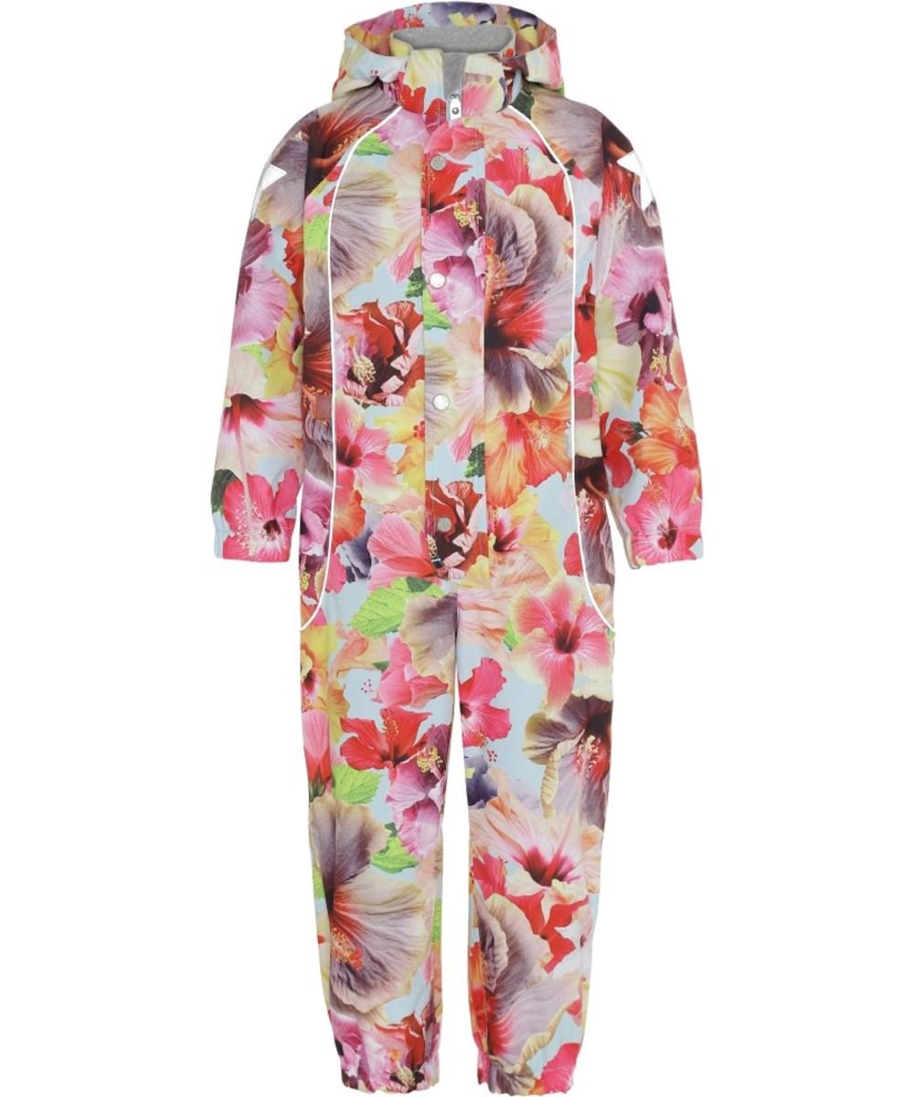 Polly - Hibiscus Dream - Waterproof floral summer suit