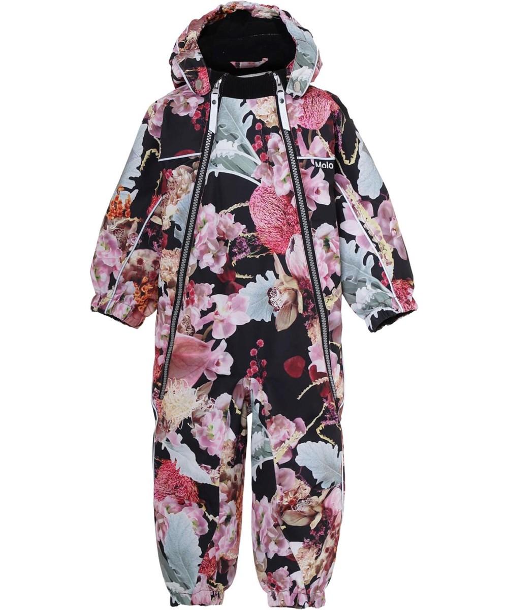 Pyxis - Bouquet - Baby snowsuit floral print