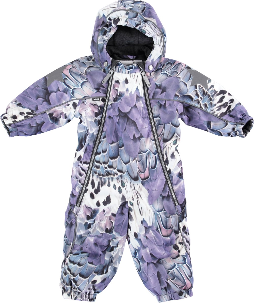 47b76574f975 Pyxis - Fine Feather - Snowsuit with feather print - Molo