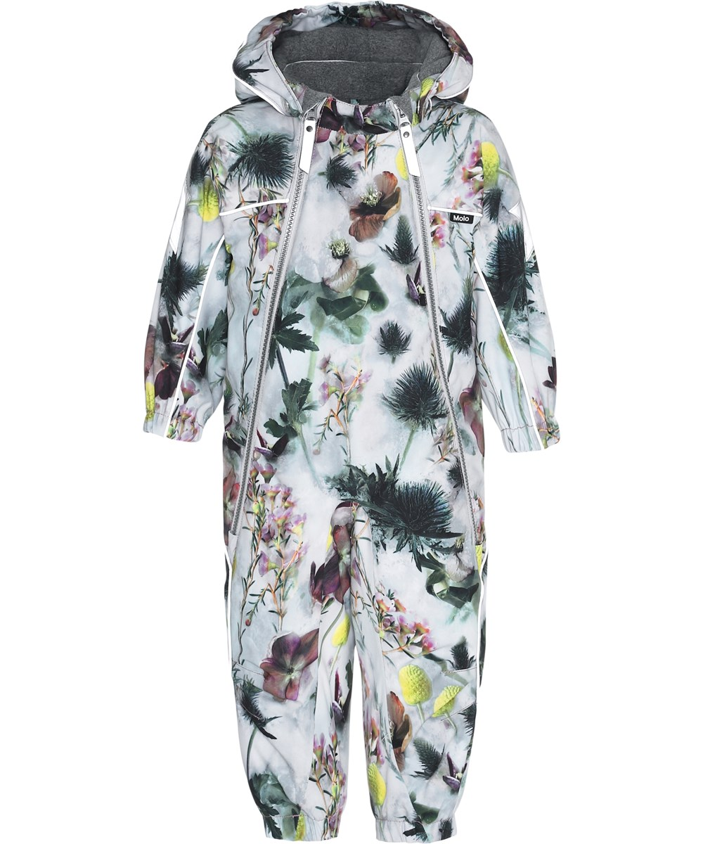Pyxis - Frozen Flowers - Snowsuit with flowers.