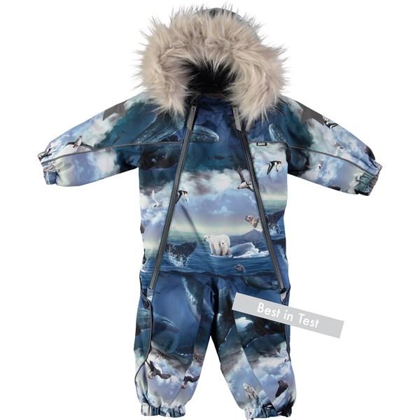 Wonderlijk Pyxis Fur - Polar Bear - Functional baby snowsuit with digital AT-25