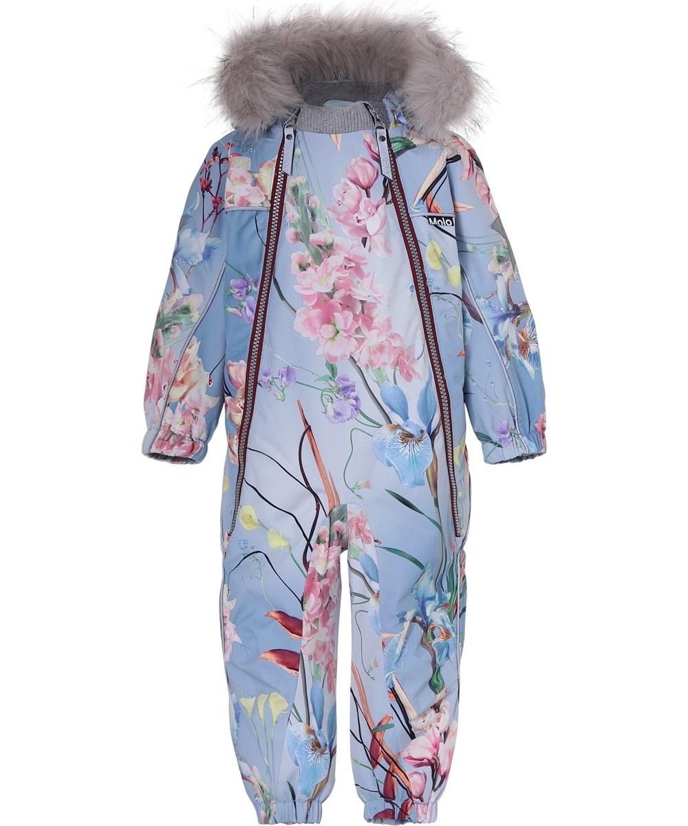 Pyxis Fur - Ikebana - Baby snowsuit floral print