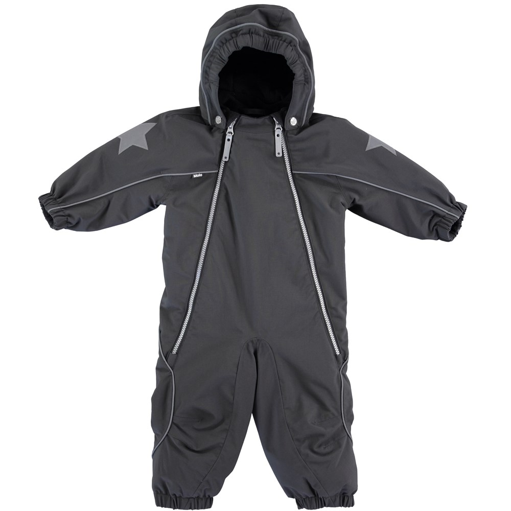 Pyxis - Pirate Black - Black snowsuit