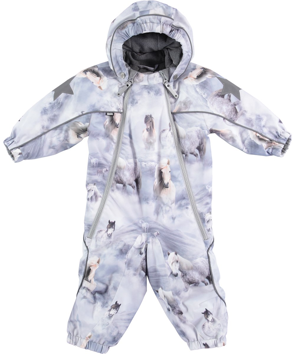 6da30fd07fde Pyxis - Pony - Snowsuit with pony print - Molo