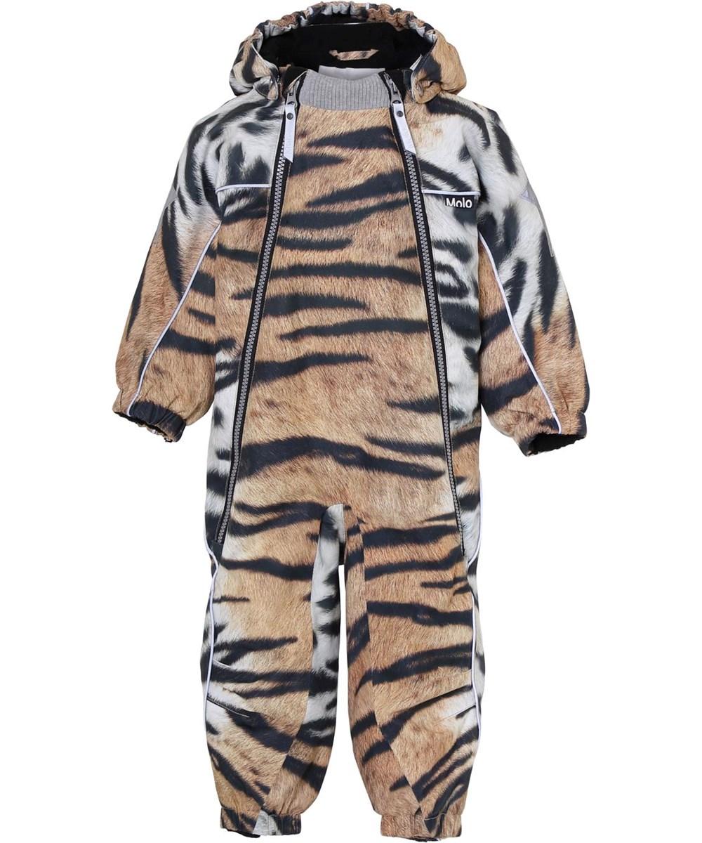 Pyxis - Wild Tiger - Baby snowsuit tiger print