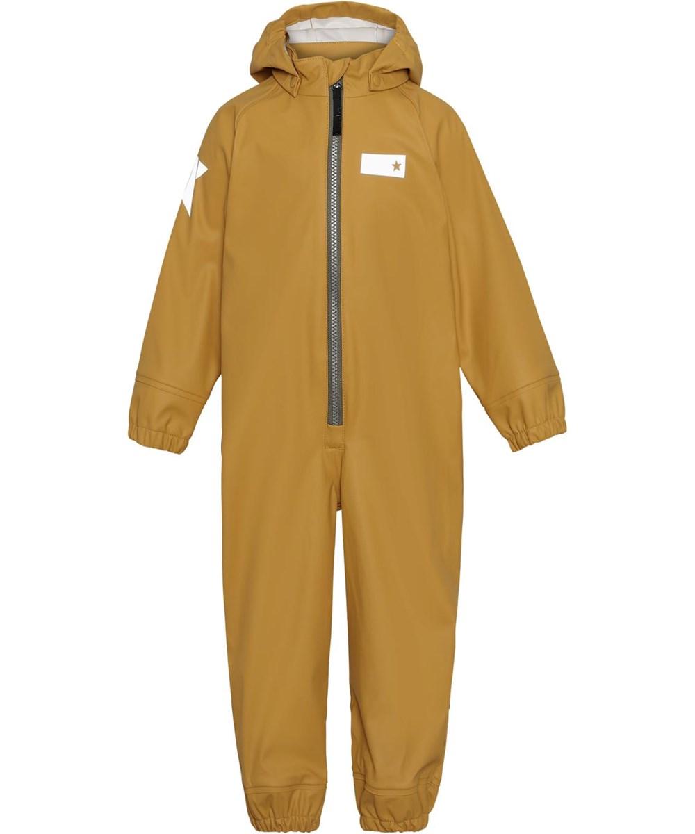 Wake - Honey - Golden breathable rain suit
