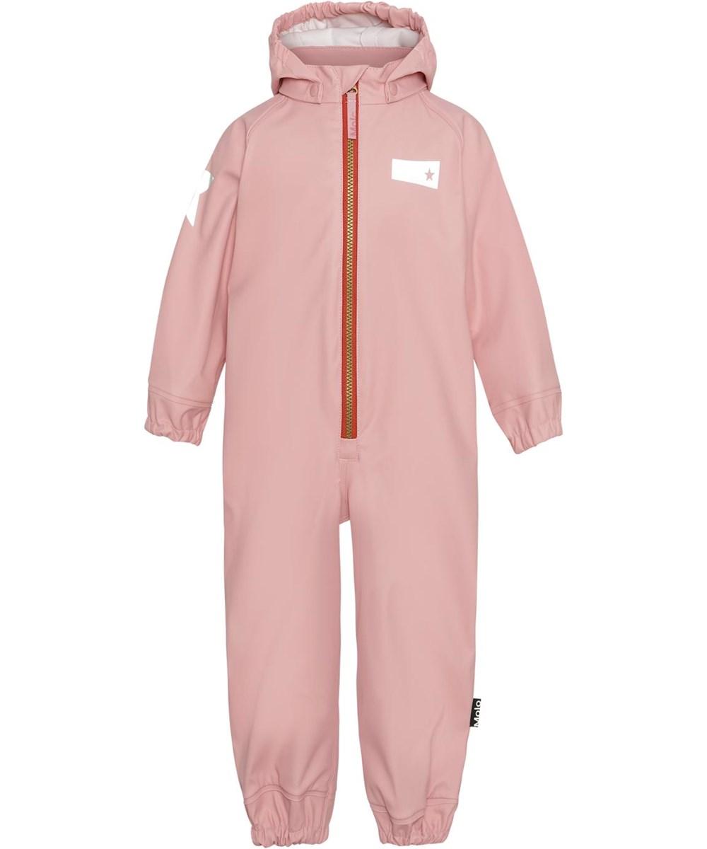 Wake - Rosequartz - Rose coloured, breathable rain suit