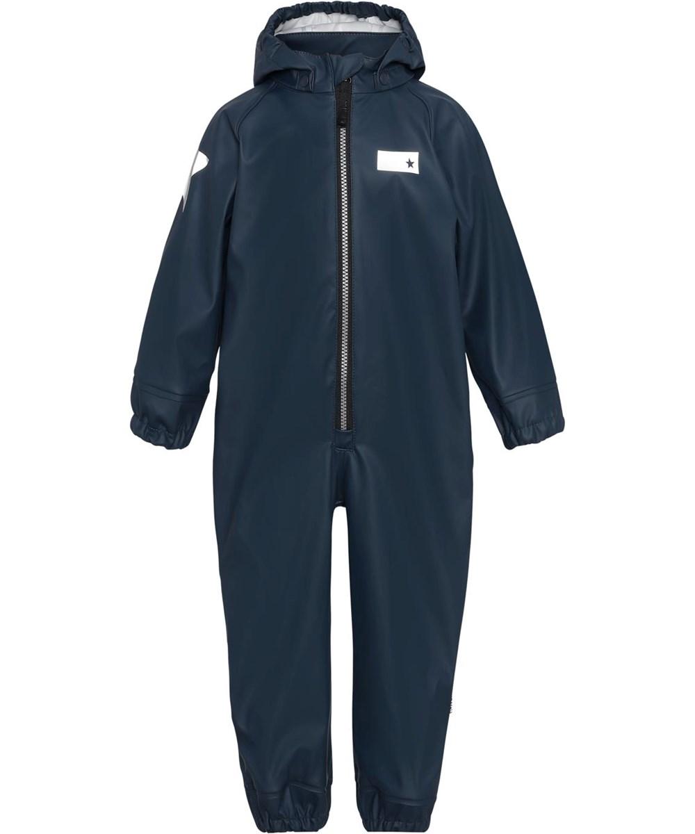 Wake - Summer Night - Dark blue breathable rain suit