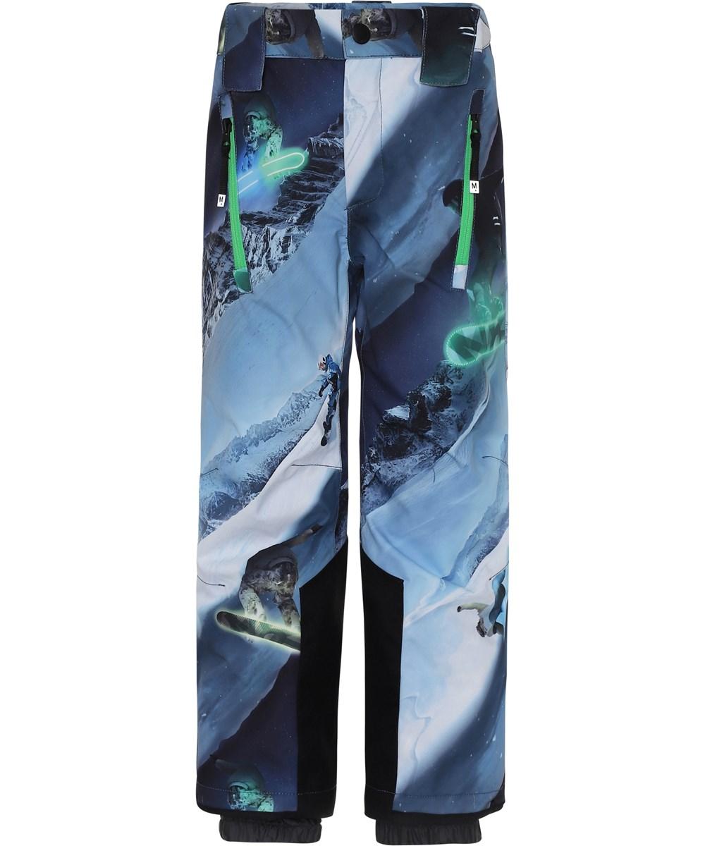 Jump Pro - 24 Hrs - Blå skibukser snowboarders.
