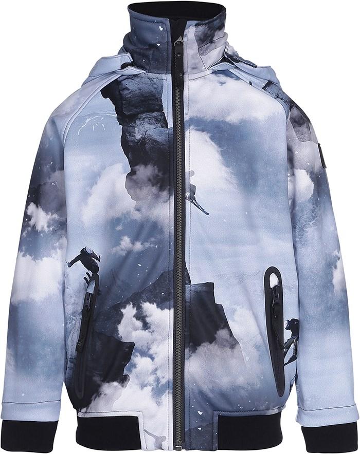 4ed7a26ec88 Cloudy - High In The Sky - Sporty softshell jakke med ...