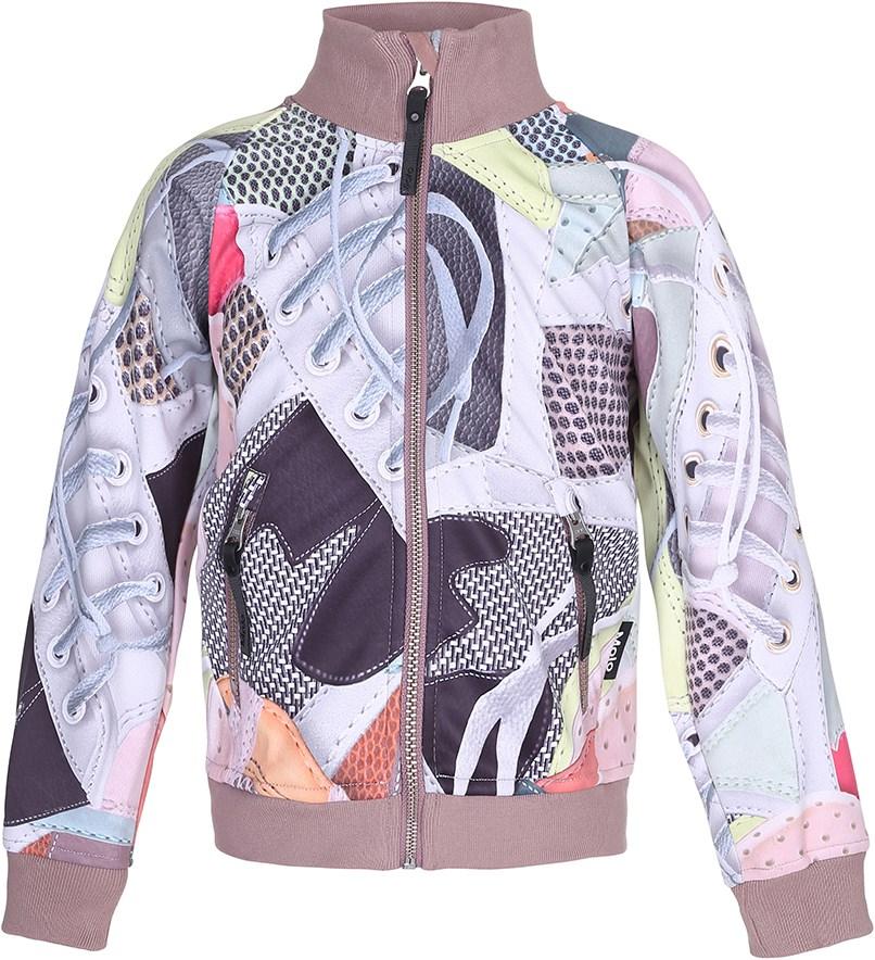 02d75688 Hestie - Sneaks - Smart og funktionel softshell jakke med digitalprintede  sneakers