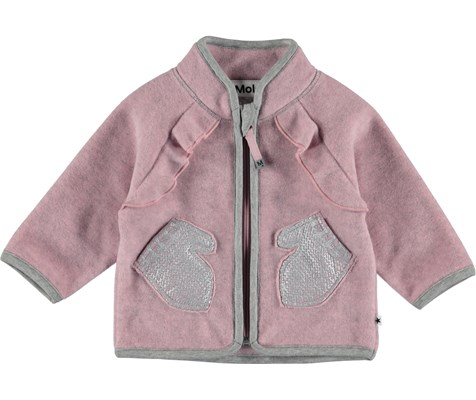 22c8bbaabcb Pyxis - Total Pink - Pink, funktionel baby flyverdragt - Molo