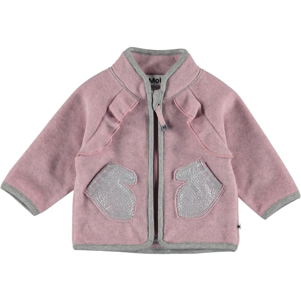 Uli - Pink Granite - Baby Jakke