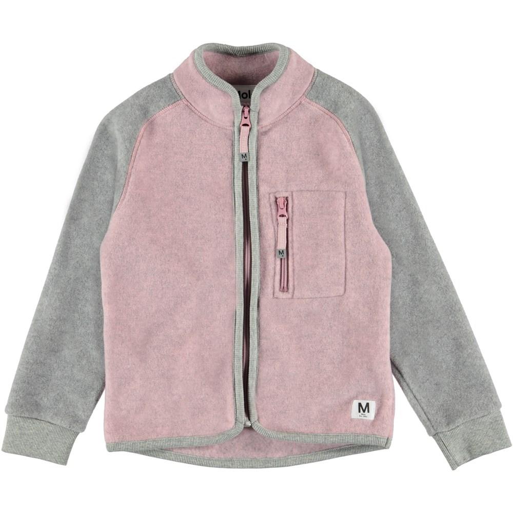 Unna - Pink Granite - Fleecejakke