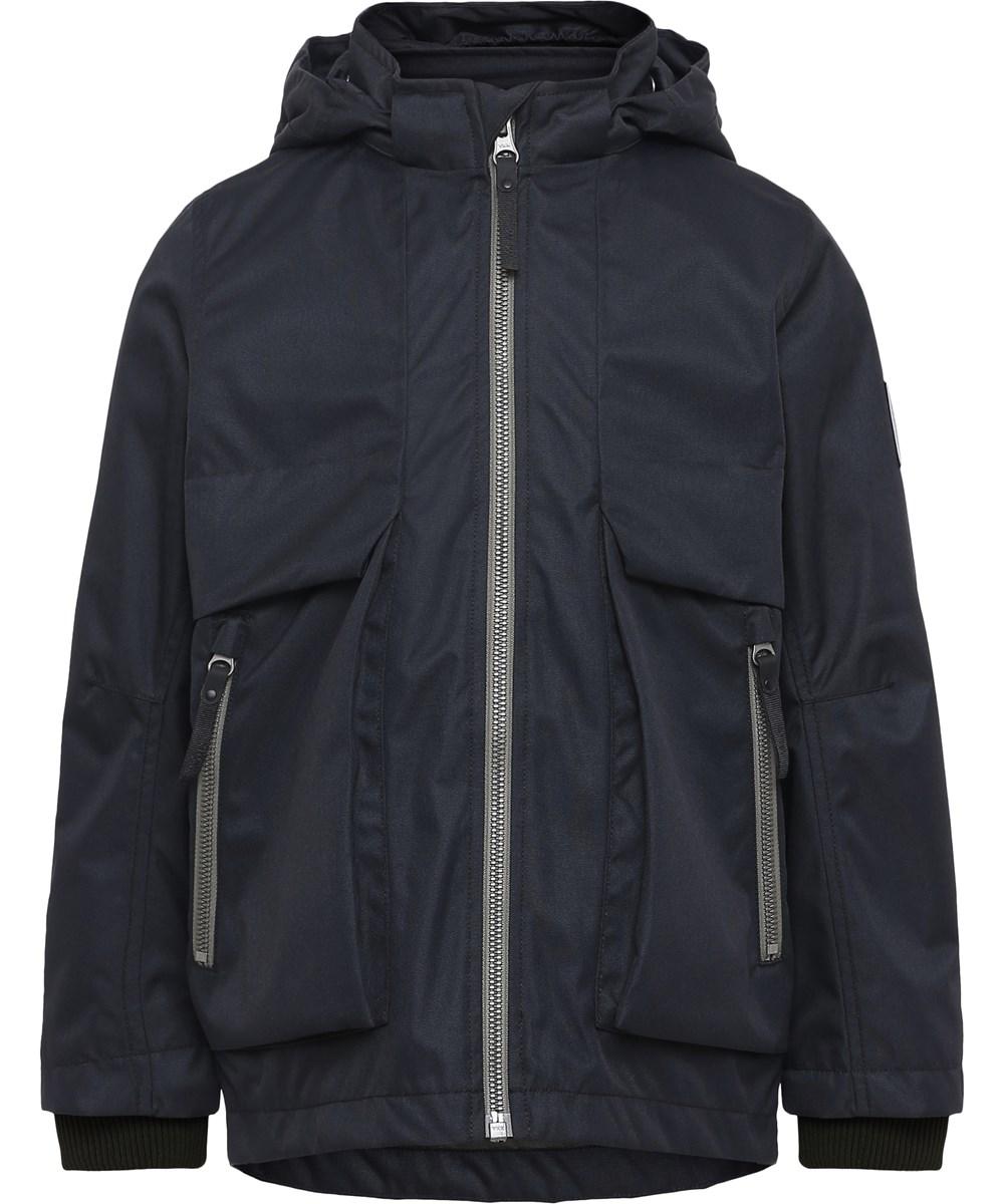 Casper - Black - sort vandafvisende jakke