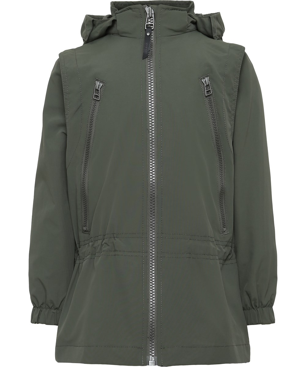 Halina - Evergreen - Parka Jakke