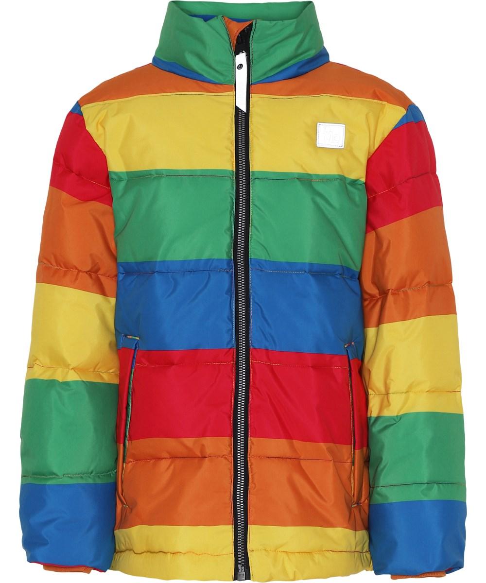 Heino - Big Rainbow - Jakke i regnbue farver.