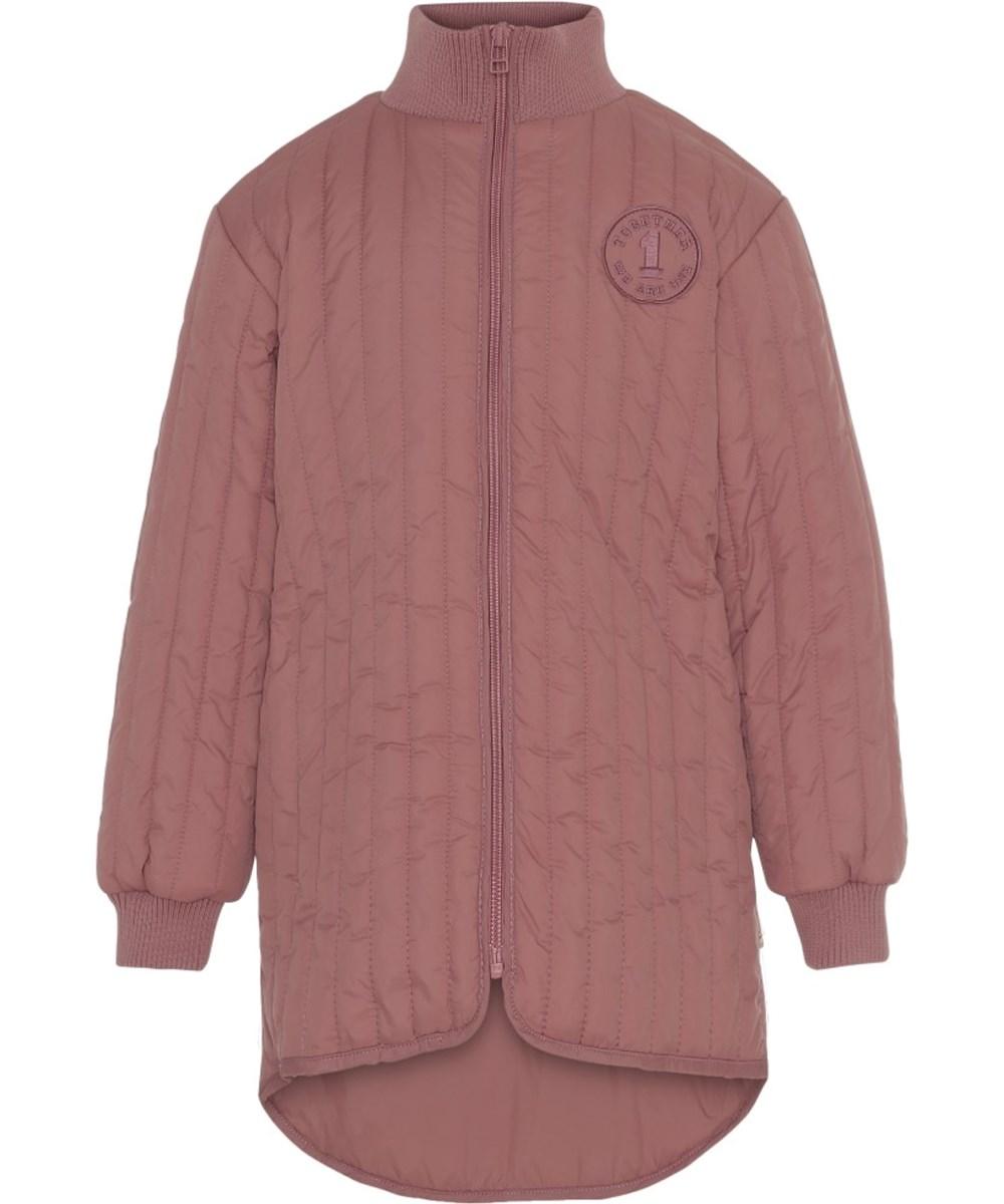 Hera - Withered Rose - Rosa lang jakke