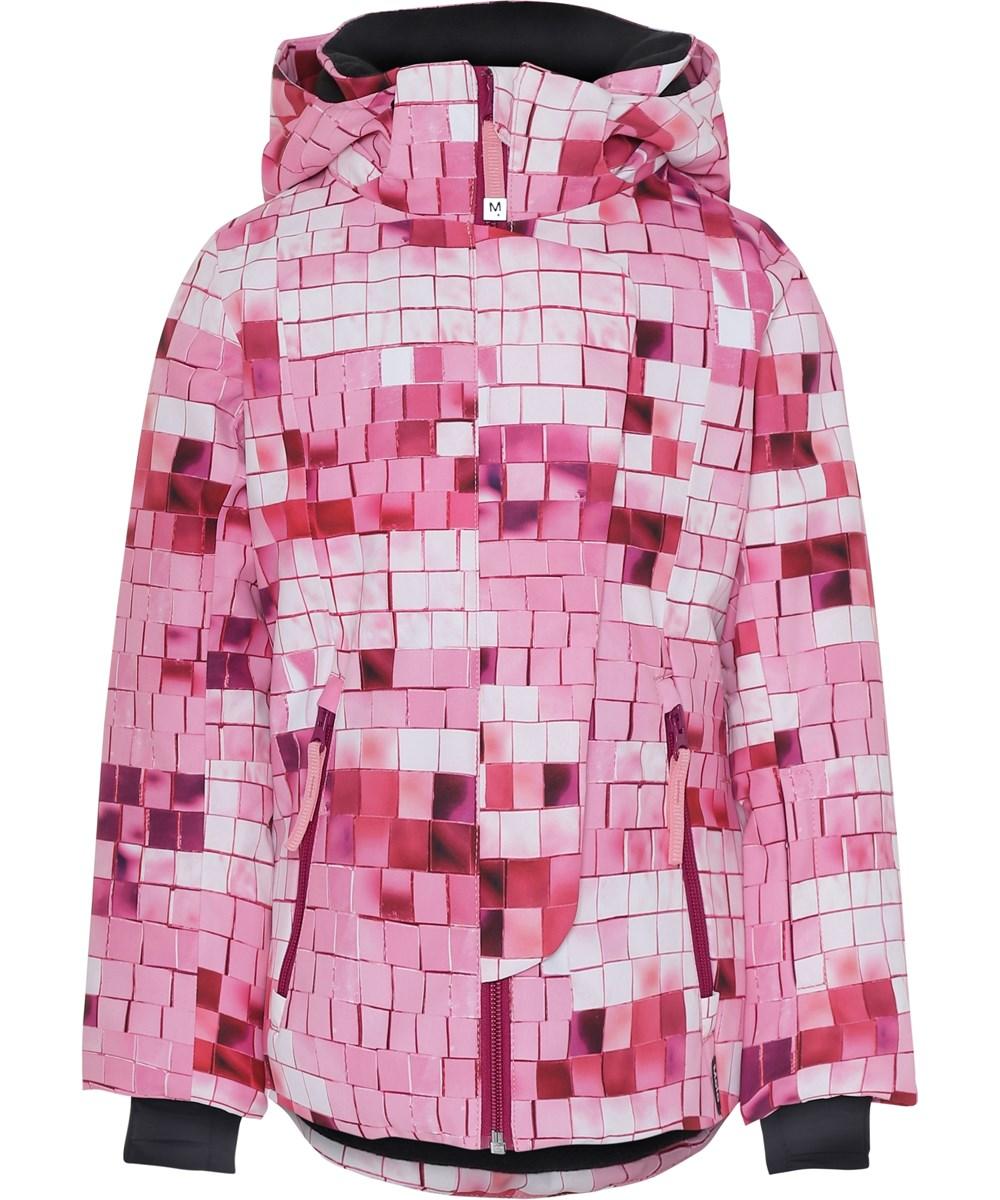 Pearson - Pink Disco - Skijakke med pink print.