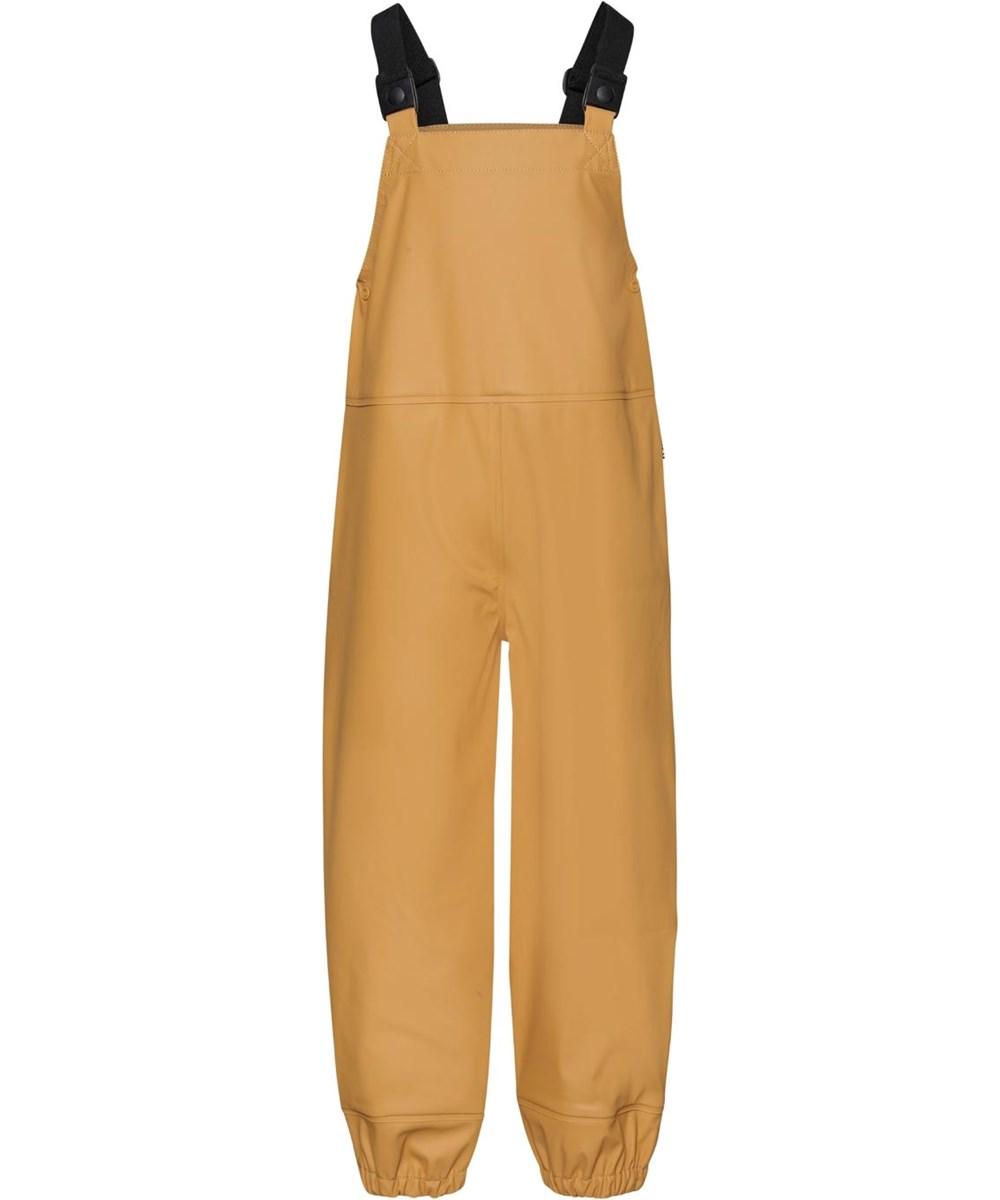 Zareb - Honey - Recycled gyldne regnbukser overalls