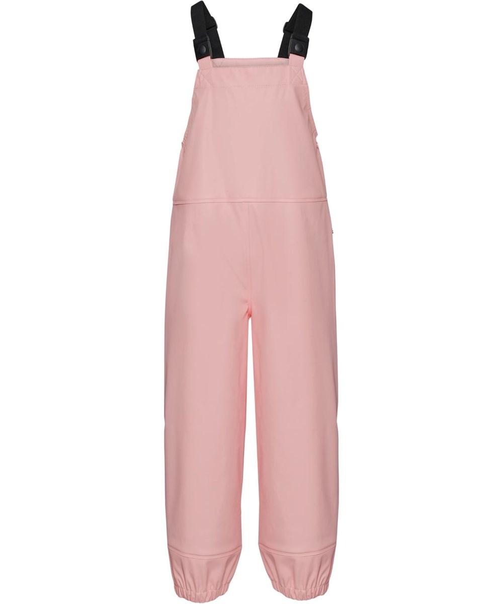 Zareb - Rosequartz - Recycled rosa regnbukser overalls