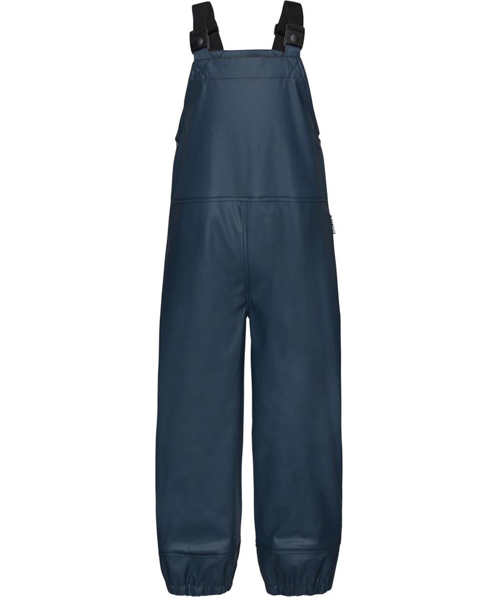 Zareb - Summer Night - Recycled mørkeblå regnbukser overalls