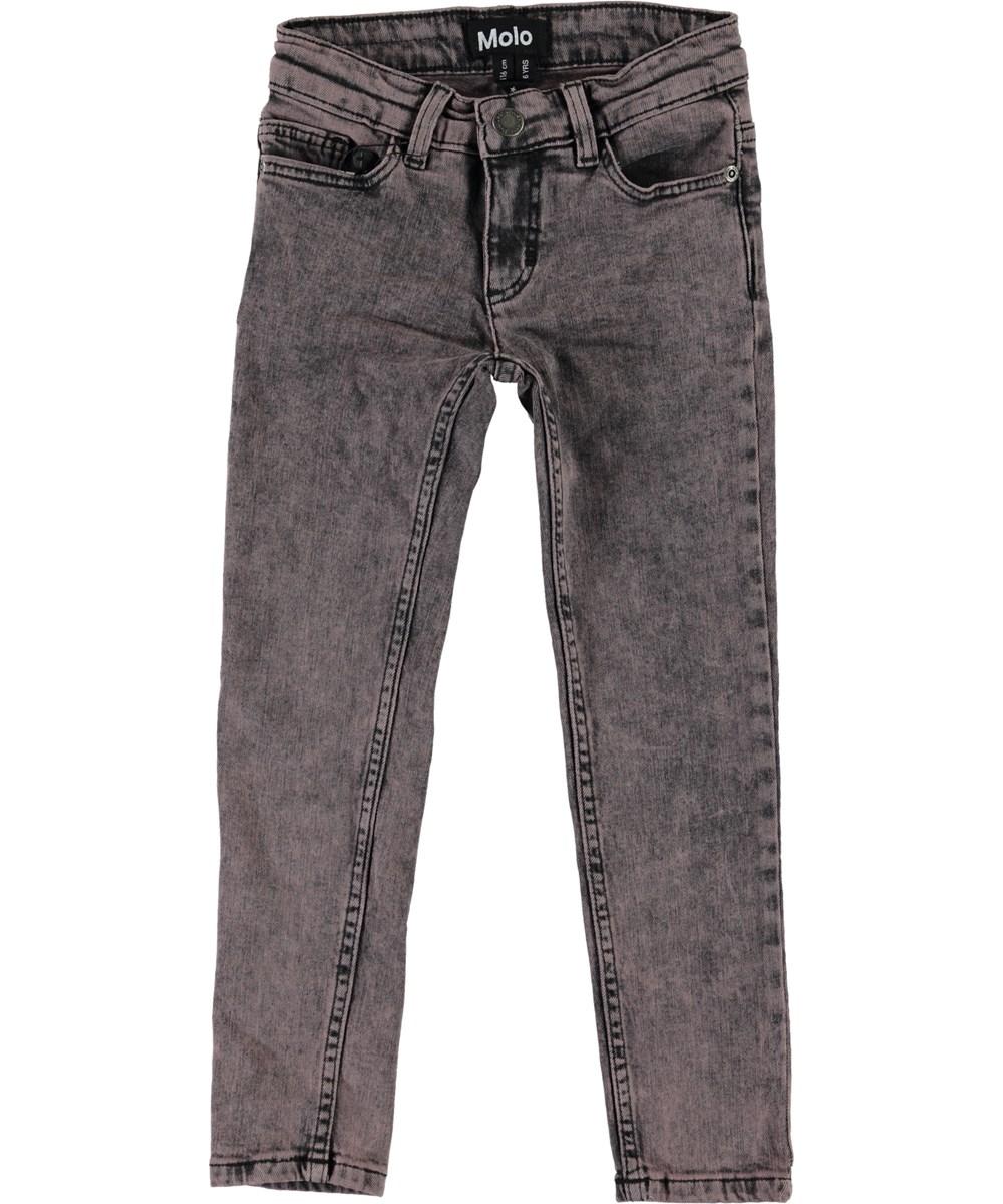 Adele - Rosewater - Lyserøde slim jeans.