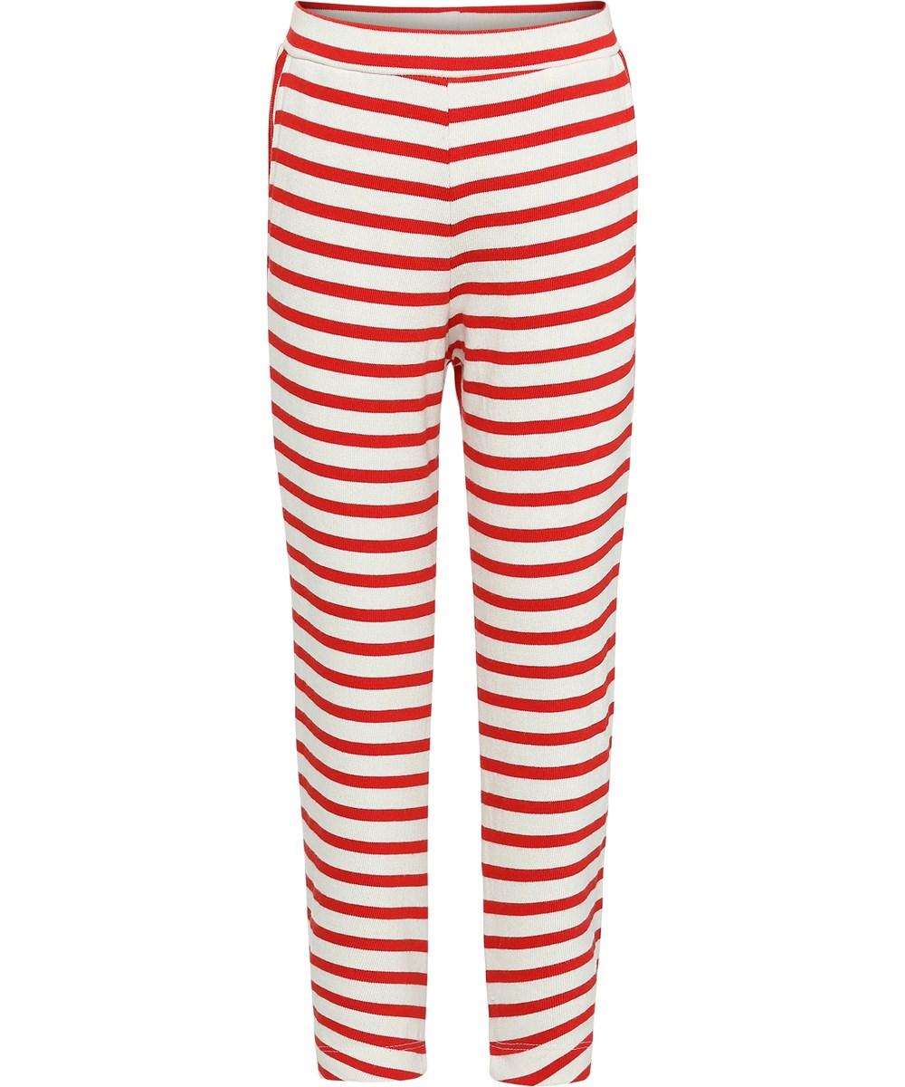 Adelyna - Chili Pearl Stripe - Breton stribede leggins.